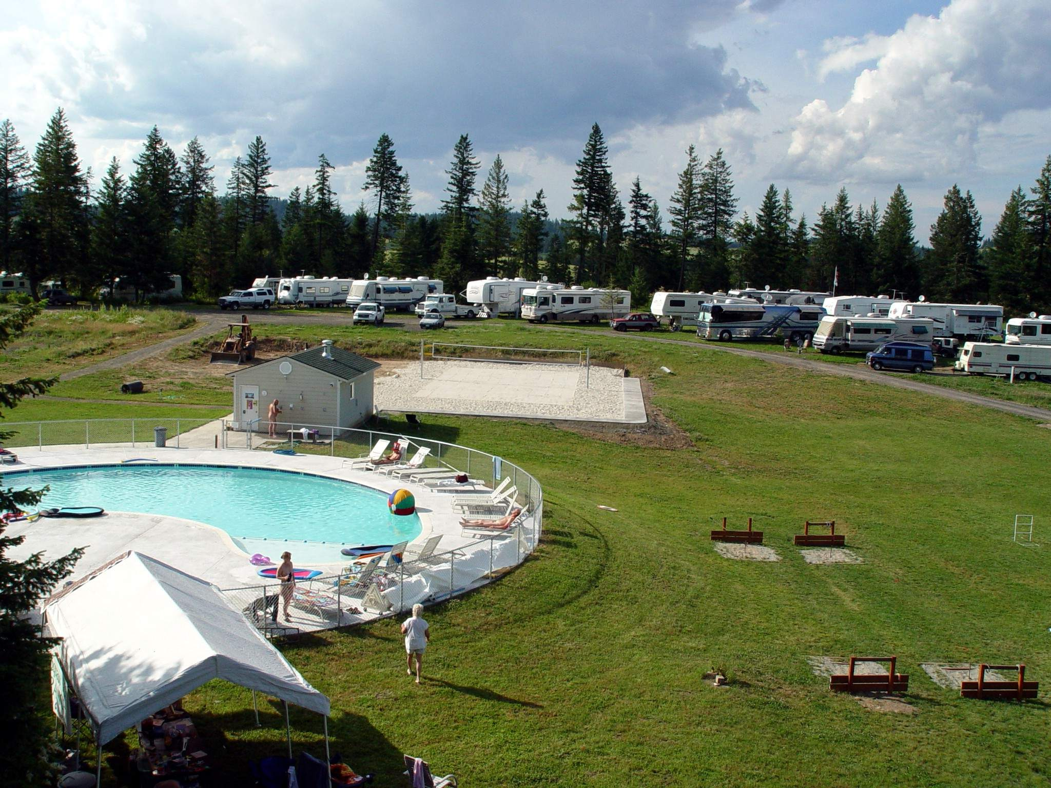 Sun Meadow Motorhome facilities